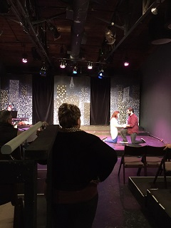 "Scene and Skits at ""Out of Box"" Theatre"